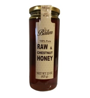 CHESTNUT HONEY 625GRx12