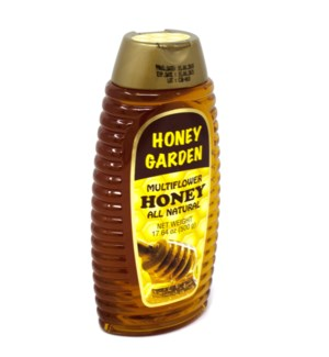 HONEY SQUEEZE BOTTLE 500GRx10