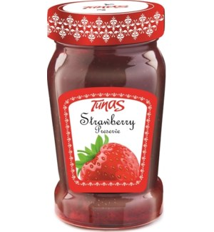 STRAWBERRY PRESERVE 800GRx12