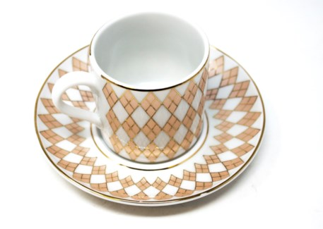 PORCELAIN COFFEE SET (DOR-90) 6PCX1