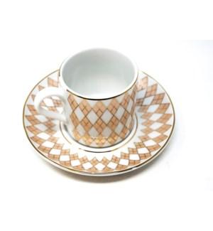 PORCELAIN COFFEE SET (DOR-90) 6PCX1