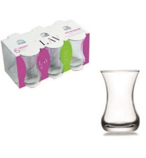 LAV DEMET DMT (303) TEA GLASS 6PCSX8