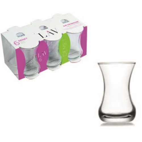 LAV DEMET DMT (303) TEA GLASS 6PCSX8