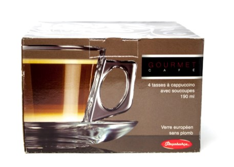 PB VELA (97302) TEA GLASS SET 4pcs x 6