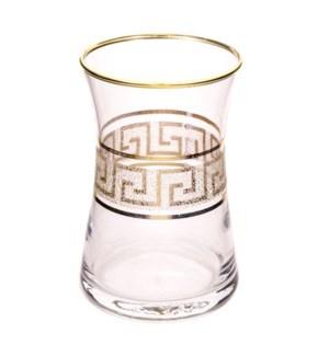 DMT 303 VERSACE YALDIZ TEA GLASS 6PCSX8