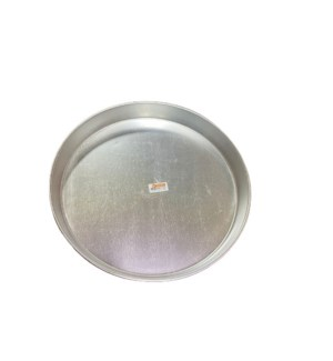 ALUMINUM ROUND TRAY #38 1PC