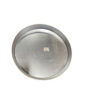ALUMINUM ROUND TRAY #42 1PC