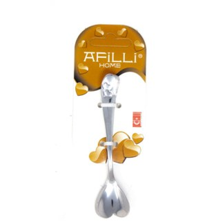 TEA SPOON (AFILLI HEART) 6PCSx1