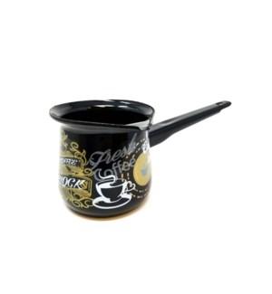 #5 ENAMEL COFFE POT/OCLOCK 1*6