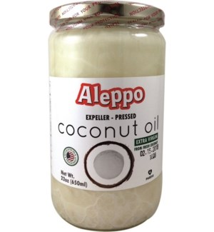 COCONUT OIL 100% EXTRA VIRGIN 14OZx12