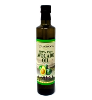 100% AVOCADO OIL 500MLx12