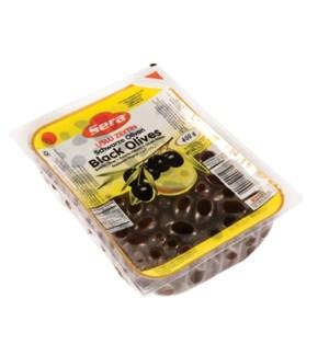 USLU BLACK OLIVES PACK 400GRx24