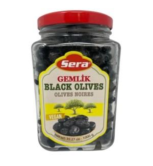 BLACK OLIVES GEMLIK TYPE 900 GR JARx6