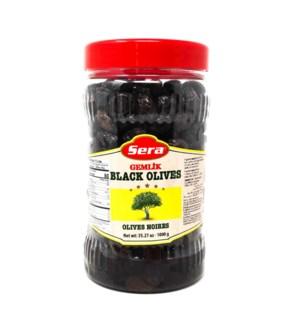 BLACK OLIVES GEMLIK TYPE 1000GRx6