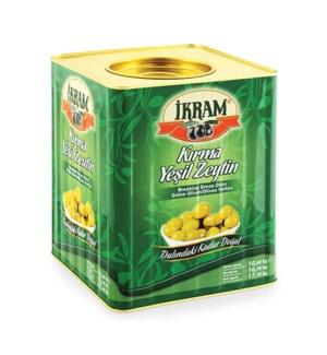 GREEN OLIVES HATAY CRACKED 10KGx1(S.PROMO)