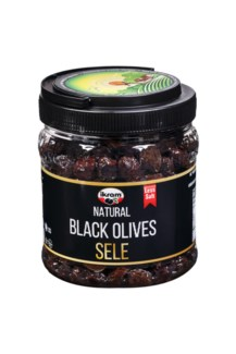 LUXES BLACK OLIVES SELE 700GRx12