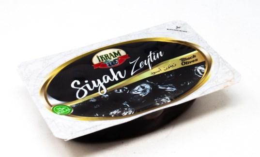BLACK SELE OLIVES 200GR x24