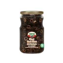 BLACK OLIVES SLICED 720GRx12