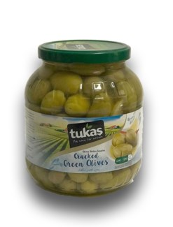 GREEN CRACKED OLIVES 1700GRx6(R.PROMO)