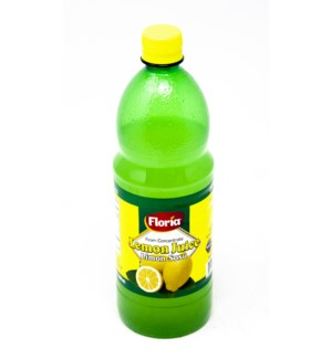 FLORIA LEMON JUICE 1000MLx12