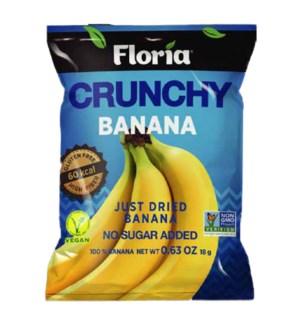 FLORIA DRY CRUNCHY BANANA 18GRX10