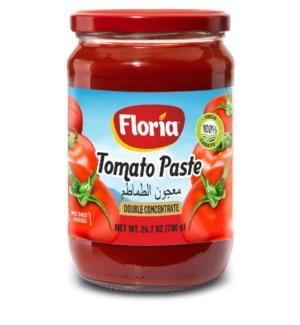 FLORIA TOMATO PASTE 720GRx12