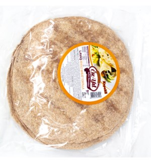 WHOLE WHEAT TORTILLA (25CM) 630GRX12
