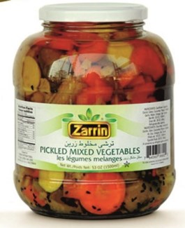 MIX PICKLES JAR 1500GRx6