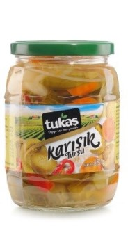 MIXED PICKLES 720GRx12
