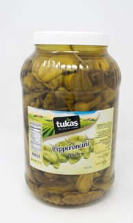 PEPPERONCINI PICKLES IN BRINE 1GALx4 PROMO