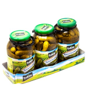 CUCUMBER PICKLES 3000GRx3