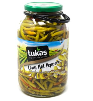 Hot Finger pepper pickles 3000mlx3 pcs