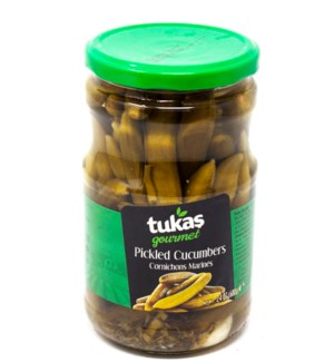 New Midget Pickled Cucumbers 720grx12 (OCT PROMO)