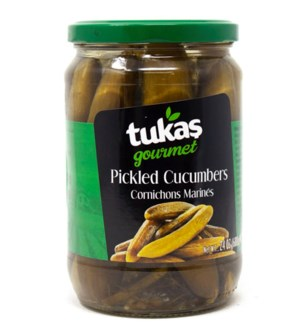New Pickled Cucumbers #1 720grx12