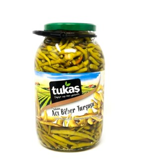 HOT FINGER PEPPER LONG PICKLES 3000ml X4 PCS
