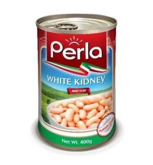 PERLA WHITE BEANS 400GRx24