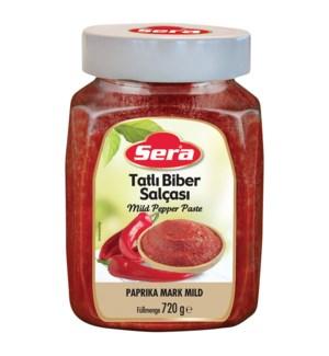 PEPPER PASTE MILD 720GRx12
