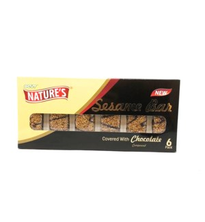 SESAME BAR W CHOCOLATE 96GRx24