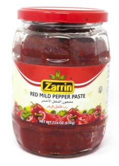 MILD PEPPER PASTE (KOSHER) 670GRx12