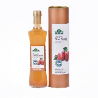 ORGANIC APPLE/CIDER VINEGAR 500MLx12