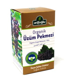 GRAPE MOLASSES ORGANIC 430GRx12