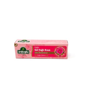 NATURAL ROSE OIL CREAM 75GR x12