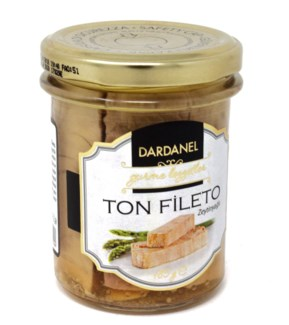 TUNA FISH IN OLIVE OIL IN JAR 185GRx12