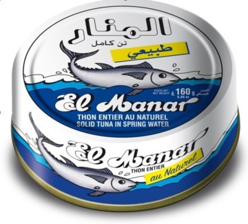 TUNA IN SPRING WATER 160GRx10