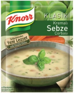 CREAMY VEGETABLE SOUP 68GRx12