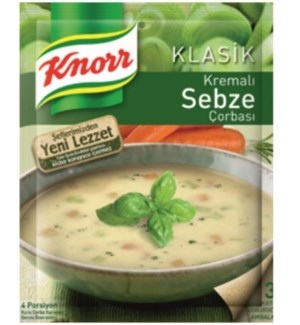 CREAMY VEGETABLE SOUP 65GRx12