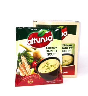 ALTUNSA INSTANT SOUP CREAMY BARLEY STAND BOX 60GRx12