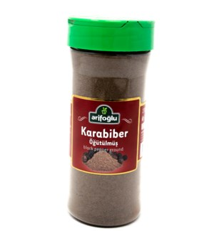 GROUND BLACK PEPPER PET JAR 200GRx15