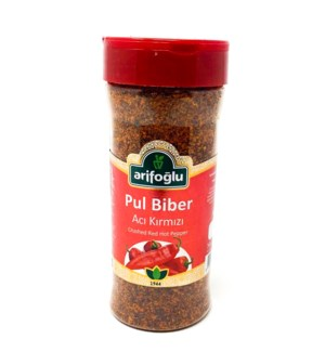 CRUSHED RED PEPPER PET JAR  175GRx15