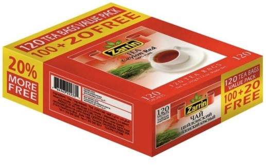 CEYLON   RED TEA BAG 120TBx21